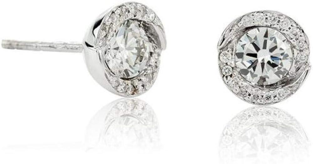 Chimento,orecchini per donna,in oro bianco 18 kt(1,8 gr),impreziositi da 2 diamanti 0,4 ct 1OER0202G5000