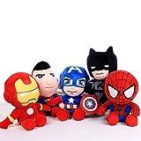 Spielzeug 5pcs Niedlich 25cm Q Style PlüschtierSoft Spider-Man PlüschtierGeschenke für Kinder