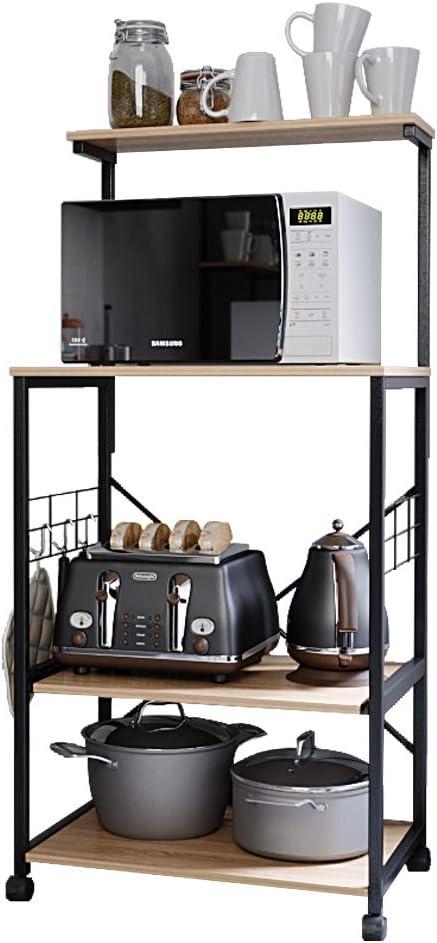 Bestier Kitchen Baker's mart Rack Sacramento Mall Utility Shelf Storage Microwave Sta