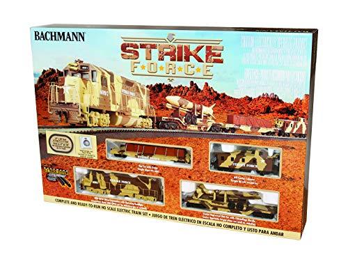 Bachmann Trains - Strike Force Ready To Run Electric Train Set - HO Scale
