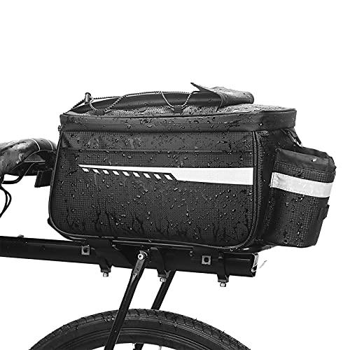 Roeam Bolsa Alforja Trasera para Bicicleta 25L,Cesta Bicicleta Trasera Impermeable,Bolsa Trasera para Bicicleta de Montaña