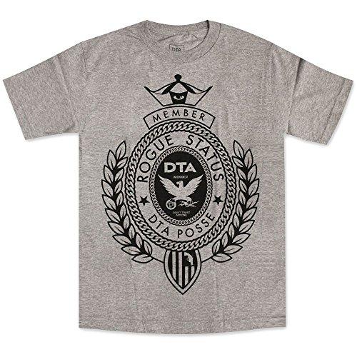 DTA RS Big Crest T-Shirt Athletic Heather Black[S]