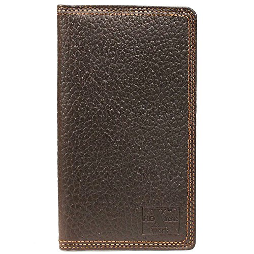 Nocona Men's HDX Rodeo Triple Heavy Duty Stitching Wallet, Brown, OS