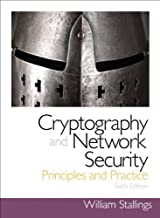 Cryptography and Network Security: Principles and Practice (6th Edition) by Stallings, William (2013) Paperback