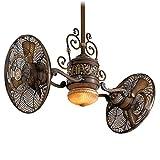 "Minka-Aire Traditional Gryo LED 42"" Indoor Ceiling Fan in Belcaro Walnut"