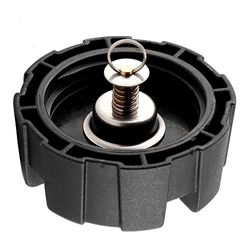 Yagosodee Cubierta universal para depósito de combustible de 12 L/24 L para motor de barco (negro + dorado)