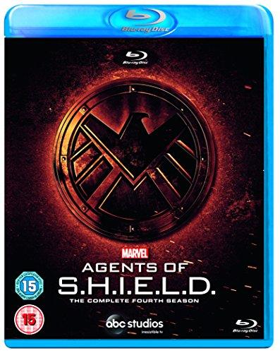 Marvel's Agents Of S.H.I.E.L.D. S4 - Blu-ray [2018] [Region Free][Standard Version]- Assorted