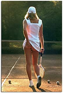 iPosters Classic Tennis Girl Poster Gloss Laminated - 91.5 X 61cms (36 X 24 Inches)