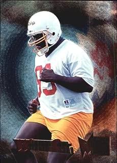 1995 Metal Football Rookie Card #191 Warren Sapp