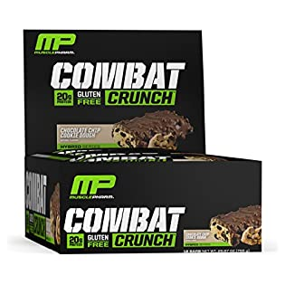 Muscle Pharm Combat Crunch Supplement, 12 count - 51rgMzui8LL. SS315