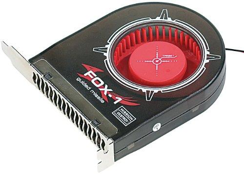 Mod-it PC Lüfter: Interner Gehäuselüfter Fox-1 120mm für die Slot-Blende (PC Gehäuselüfter)