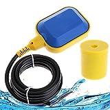 YUNYODA Interruptor flotante, cable de 5 M, controlador de nivel de agua, interruptor de flotador...