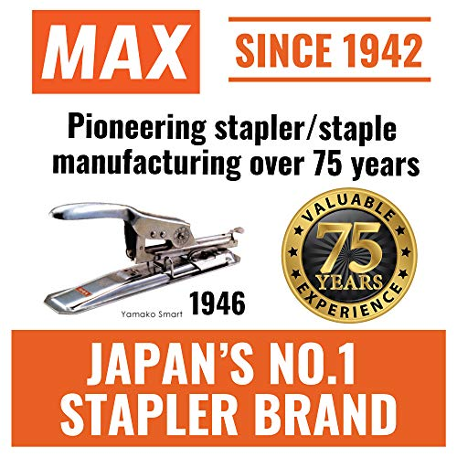 "Max 35-5M Standard Staples for USA; Leg Length 6mm (1/4""); 100 Staples per Stick, for Use with Max HD-50, HD-50R, HD-50F and other Standard Staplers, 0.25"" Leg Length, 0.5"" Crown Width, 5000 Count Photo #4"