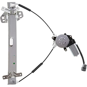A-Premium Power Window Regulator with Motor Compatible with Honda Accord 2003-2007 Sedan Rear Right Passenger Side