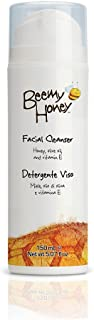 BeeMy Honey Facial Cleanser, Fresh Scent – Face Wash Contains Honey, Olive Oil and Vitamin E for Radiant Skin – 98.4% Natu...