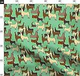 Kamel, Bauernhof, Lama, Alpaka, Peru Stoffe - Individuell