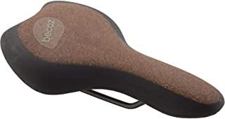 Selle Royal Women's Becoz Moderate Recyclable Saddle Cover with Cork, Brown/Black