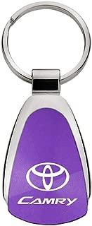 Au-Tomotive Gold, INC. Toyota Camry Purple Teardrop Keychain