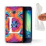 eSwish Personnalisé Tissu Tie-Dye Motifs Personnalisé Coque Gel/TPU pour Samsung Galaxy A3/A300 /...