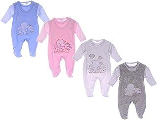 Malgosia Strampler Set 50 56 62 68 Erstlingsset Jäckchen Anzug Babykleidung
