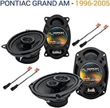 Compatible with Pontiac Grand AM 1996-2005 OEM Speaker Upgrade Harmony R46 R69 Package New