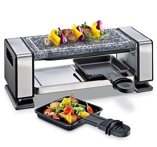 Kuechenprofi 1760002800 Raclette VISTA2, Edelstahl, Silber