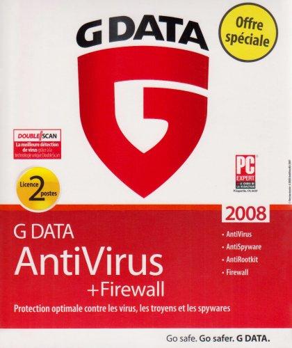G data antivirus + firewall 2008 (2 Postes)