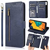 Samsung Galaxy A40 Phone Case Wallet,Detachable Magnetic