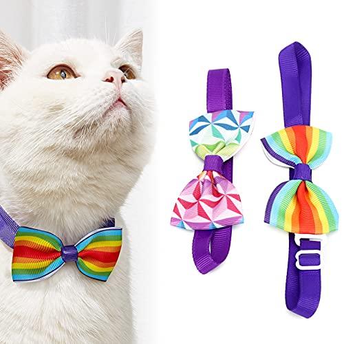 DWMD Collar para Perro, Pajaritas Suaves para Mascotas para Mascotas pequeñas/Medianas para Gatos para Perros