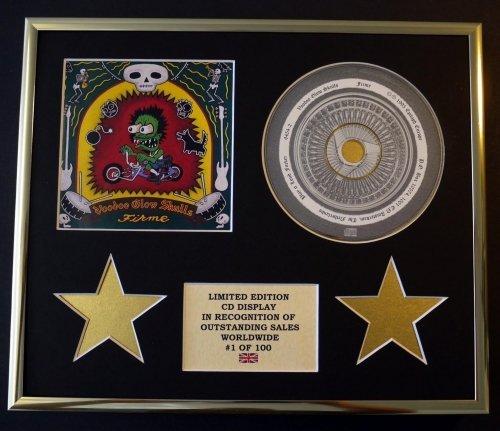 VOODOO GLOW SKULLS/CD Display/Edicion Limitada/Certificato di autenticità/FIRME