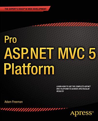 Pro ASP.NET MVC 5 Platform (English Edition)