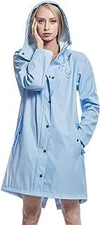 Women's Waterproof Adjustable-Hood Rain Jacket