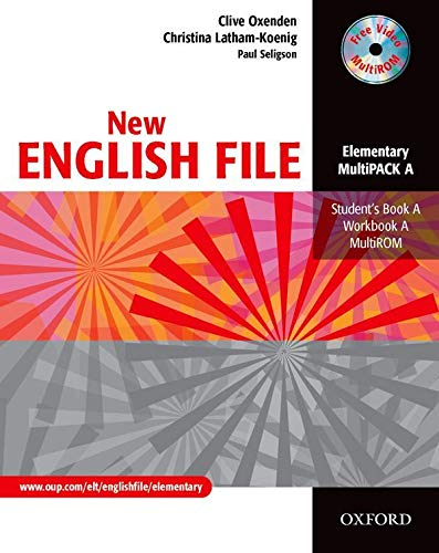 New English file. Elementary. Student's pack. Part A. Student's book-Workbook. With key. Per le Scuole superiori: Six-level general English course for adults