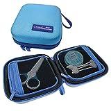 PILLBASE Mini Baby Case Set vacío | Apotheke Viaje | Neceser de viaje | Familia | Neceser | Neceser | Portátil & móvil | Almacenamiento Viaje (Azul)