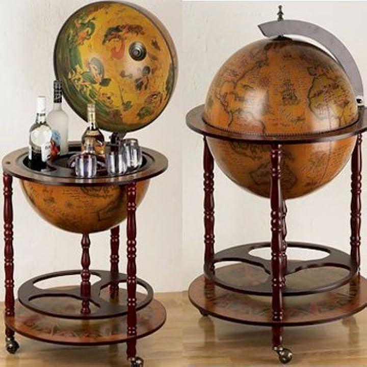 Mappamondo bar eucalipto bar globe drink cabinet style emarkooz B003X8VWIA