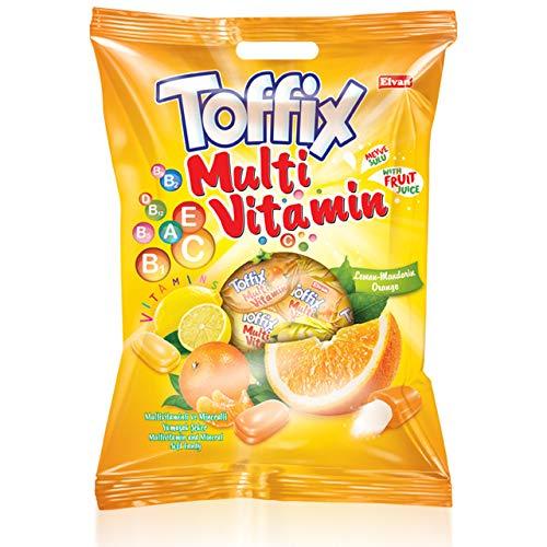 Toffix Multivitamin 1kg Kaubonbons Lemon-Mandarin & Orange