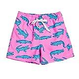 uideazone Boy's Swimwear Cute Animal Surf Board Shorts Summer...