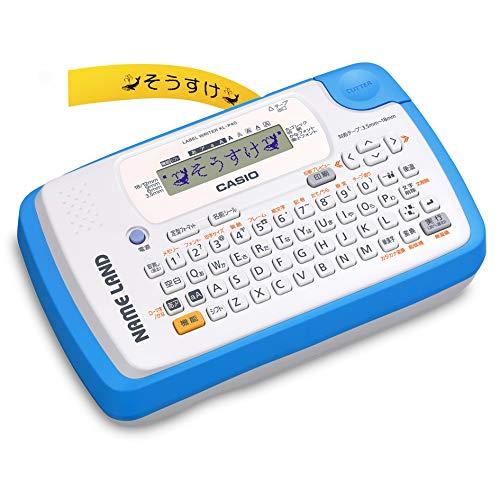 カシオ ラベルライター NAMELAND ブルー KL-P40-BU 1台