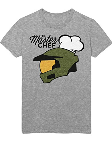 T-Shirt Halo The Master Chef Z100074 Grau M