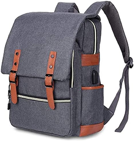 CONTACTS Laptop Bag & Tablet Fashion Travel Backpack Fits Upto 15.6 inch Laptop| Lighweight & Versatile| with USB Cha...
