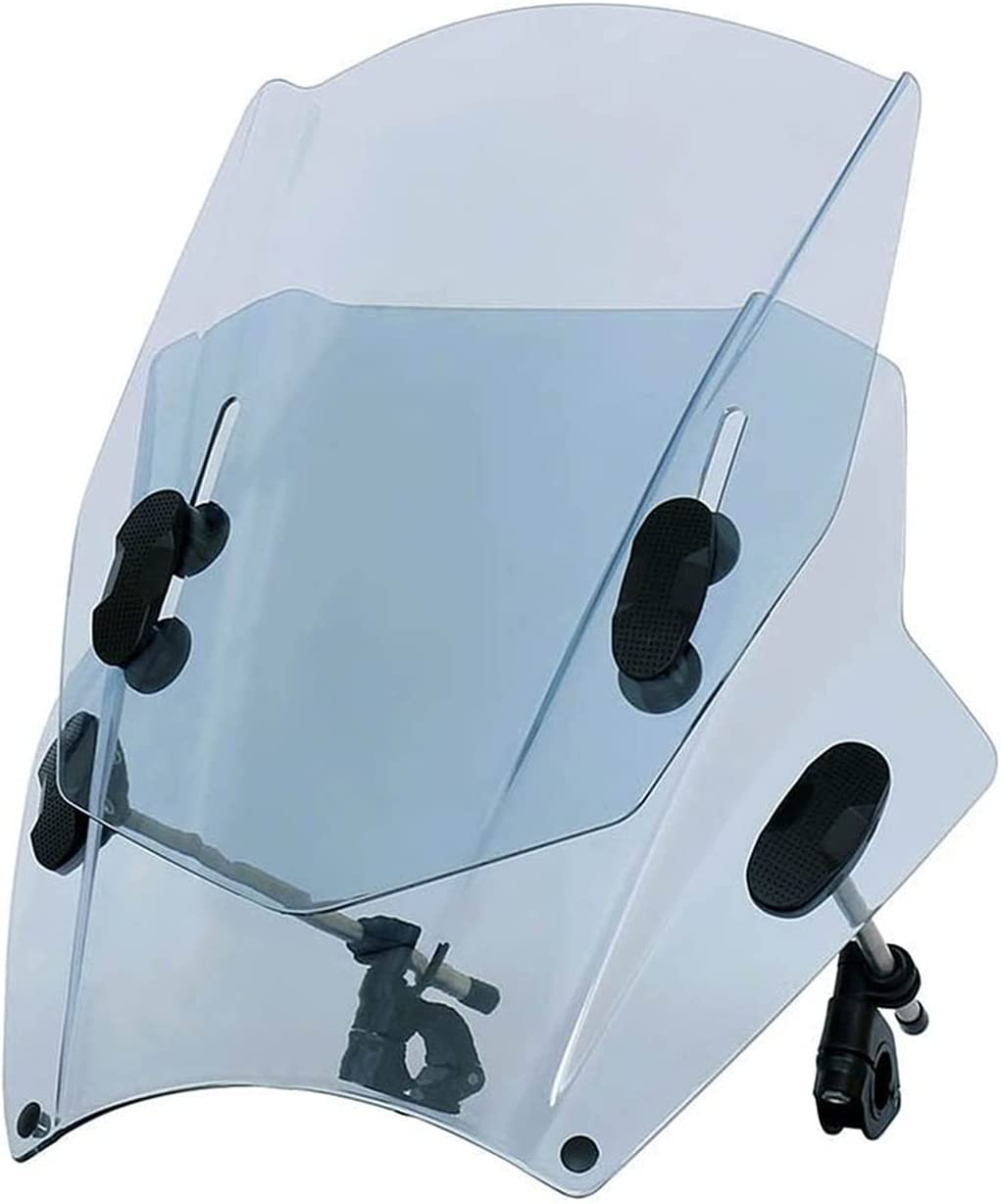 Motorcycle Safety and trust Sale Special Price Windscreen Windshield Universal
