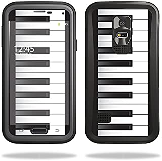 Skin Compatible with OtterBox Preserver Samsung Galaxy S5 Case – Piano Keys | MightySkins Protective, Durable, and Unique Vinyl wrap Cover | Easy to Apply, Remove, and Change Styles | Made in The USA