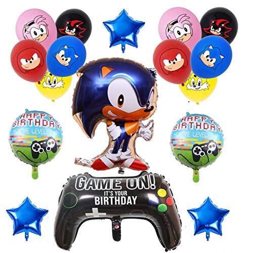 Sonic Hedgehog Party Balloons Supplier S Buy Online In Dominica At Desertcart