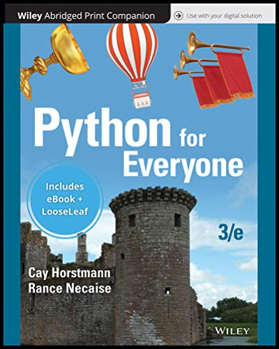 Python for Everyone, 3e Binder Ready Version with Wiley E-Text Reg Card Set