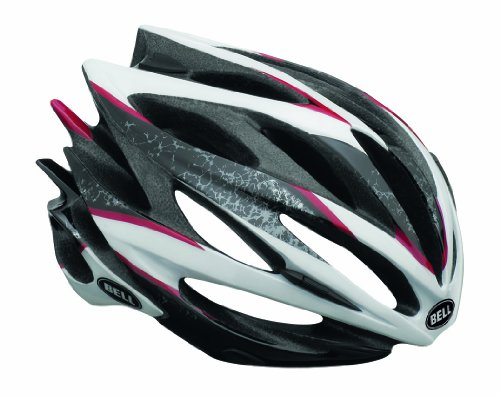 BELL Fahrradhelm Sweep, Black/White/Red Sparker, 58-62 cm