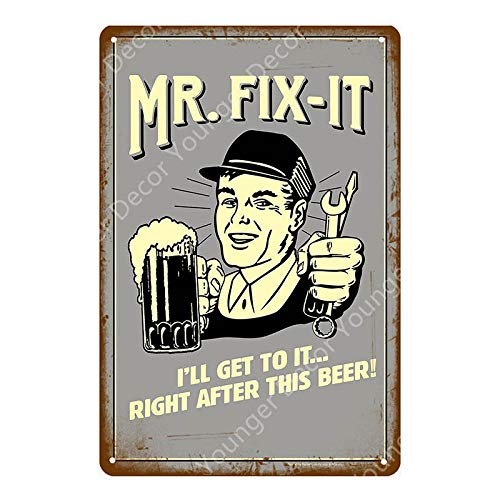 Iron Painting Tin Metal Painting Vintage Cheers Beer Painting Poster Plate Club Pub Decorative Plate Tiki Bar Party Grill-Sku0838G_20X30cm