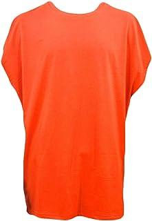 Keaac メンズサマーカジュアルクルーネックブラウスノースリーブヒップホップTシャツ