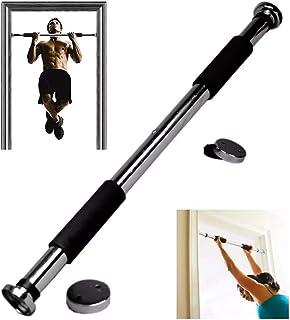 YANFENG - Barra de dominadas, ajustable de 62 a 100 cm, barra de dominadas, para puerta, entrenamien
