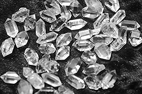 1 Strand Herkimer Nuggets Herkimer Quartz Nuggets Beads- 7mmx14mm-6mmx17mm Diamond Quartz 10 Inches Jewelry Making SPB727