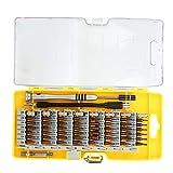Juego de puntas de destornillador multifunción 60 en 1, juego de destornilladores de múltiples puntas de desmontaje, herramientas de reparación de componentes electrónicos para teléfonos, gafas
